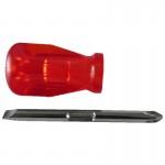 SCREWDRIVERS BLADE 6mm/CROCE DIN 2 L.85mm