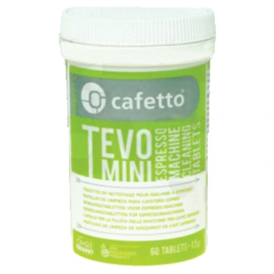 CAFETTO TEVO BREWING GROUP DETERGENT 60 TABS 1,5g -ORGANIC
