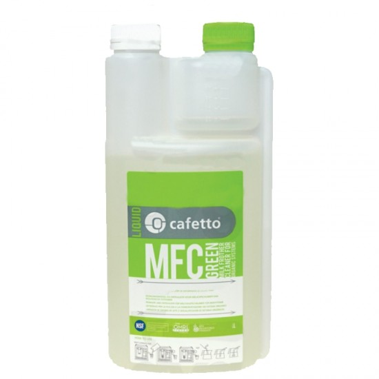 CAFETTO MFC GREEN LIQUID DETERGENT FOR STEAM STEM AND MILK FROTHER 1L