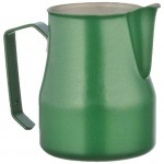 MILK PITCHER MOD. EUROPA 35 CL STAINLESS STEEL, GREEN -PROFESSIONAL