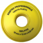 PTFE TAPE 19X0,2X12MT PROFESSIONAL