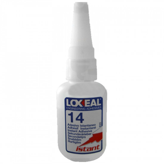 INSTANT ADHESIVE LOXEAL 14 CYANOACRYLATE 20 GR.