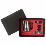 BARISTA BOX MOD. ELEGANCE - BLACK TAMPER HANDLE AND HOLDER