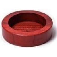 suport pentru tamper din lemn rosu diametru 60mm