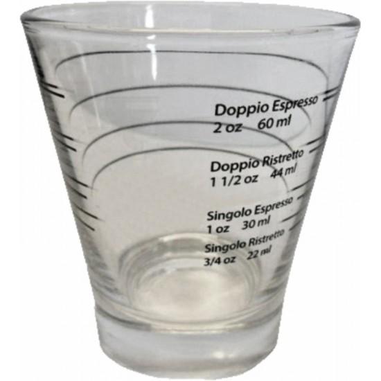 SHOT GLASS 22, 30, 44, 60ML - 3/4, 1, 1-1/2, 2 OZ