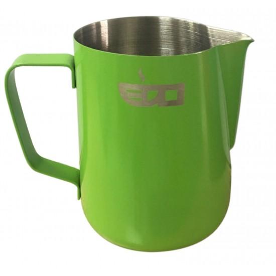 Latiera pitcher inox pentru cappuccino 600ml GLASS GREEN