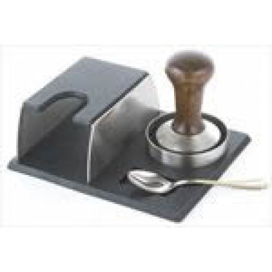 suport inox MOTTA pentru tamper,portfiltru expresor,lingurita
