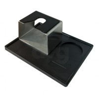 TAMPING MAT ANGULAR FLAP WITH CUBIC S. STEEL UNIVERSAL FILTERHOLDER STAND