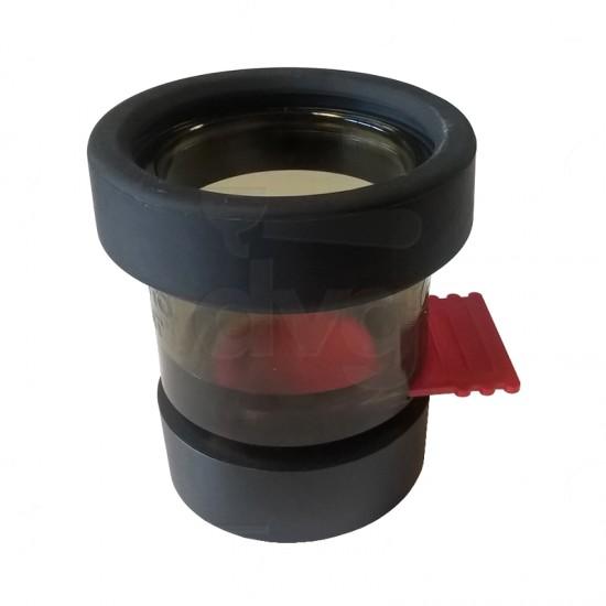 COFFEE TANKS ADAPTOR D.67,5MM CONICAL FOR QUAMAR T80-M80 GRINDERDOSER