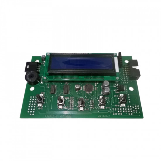 DISPLAY WITH ELECTRONIC BOARD X MYTHOS