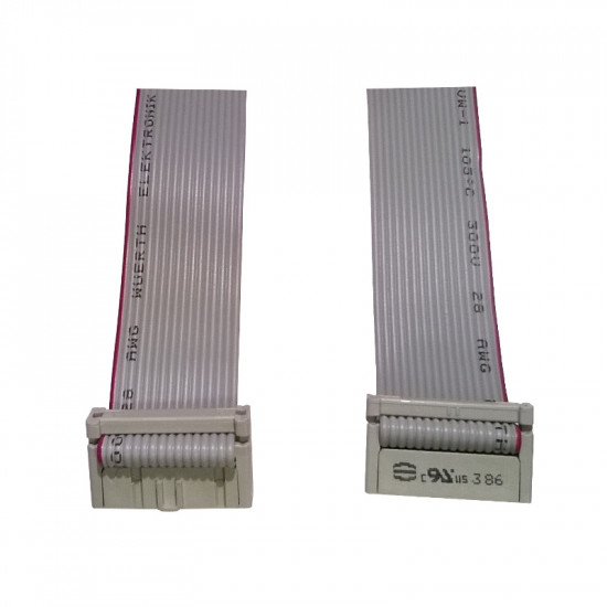 PIN TO PIN IDC 16 POLE CABLE L.600MM
