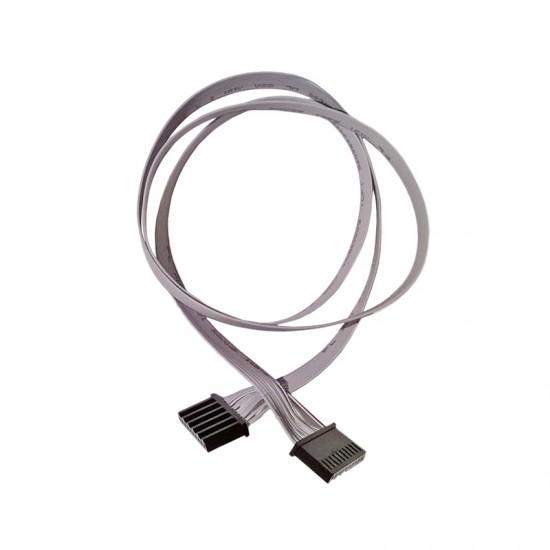 FLAT CABLE PUSH BUTTON-ELECTR. BOX 10 POLE CM.140