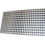 WARMING CUP PLASTIC GRID 39x22 CM BLACK