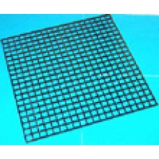 WARMING CUP PLASTIC GRID 30x30 CM BLACK