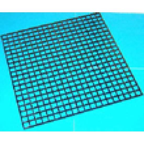 WARMING CUP PLASTIC GRID 30x30 CM BLACK