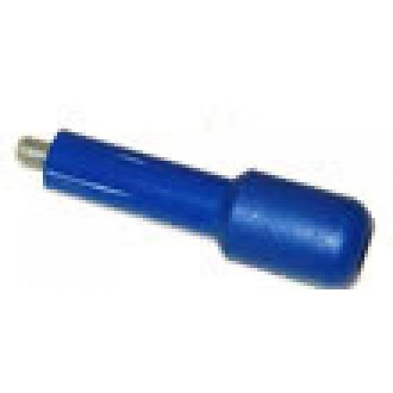 FILTERHOLDER HANDLE EMBOSSED M12 -BLUE