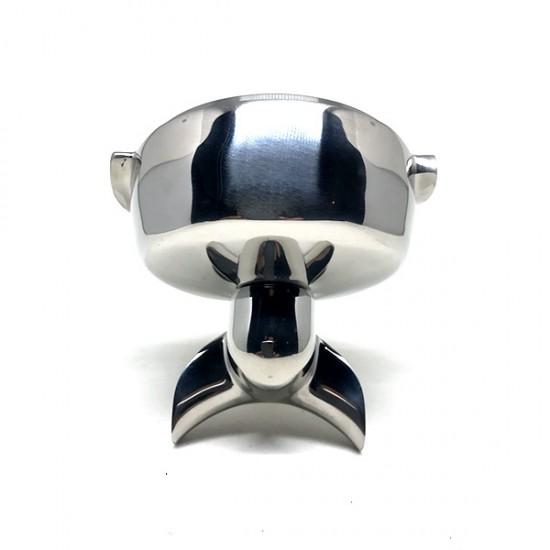 Cap portfiltru din inox cu picurator de dublu pentru expresor cafea cu grup E61