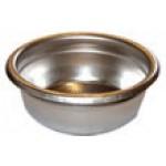 filtru - sita nepresurizata 2 cafele cu microgauri pentru portfiltru ,  14gr , Faema , Astoria , Bezzera , etc