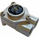 contor volumetric flowmetru Gicar cu led cu capac metalic