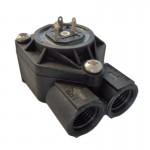 FLOWMETER CERT.NSF 71220 FMPL- C-L PLASTIC G1/4 D.3,7+OUT- WITH LED