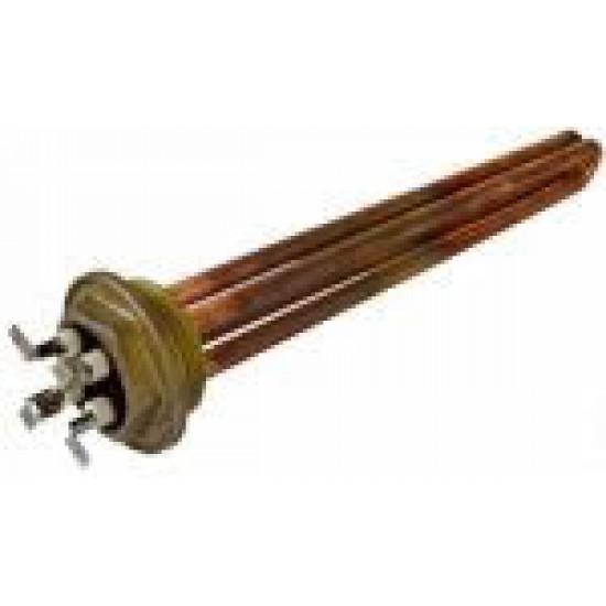 Rezistenta cu filet pentru boiler expresor GEM , AURORA  , CARIMALI ,etc , 2grupuri ,2400W 230V