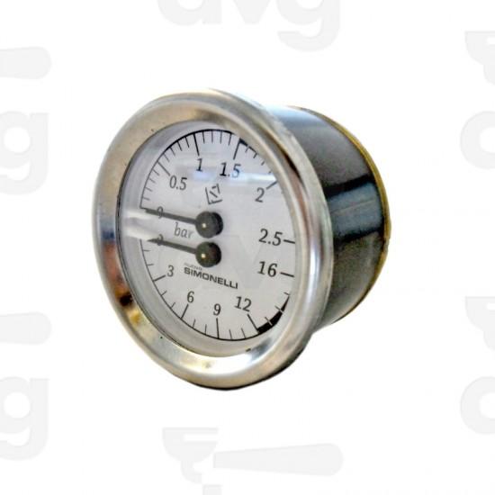 Manometru ceas presiune boiler pompa expresor NUOVA SIMONELLI - original