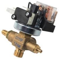 PRESSURE SWITCH XP700+C111P 0,5-1,5 BAR G1/4 110VAC W/SAFETY VALVE 1,8 BAR