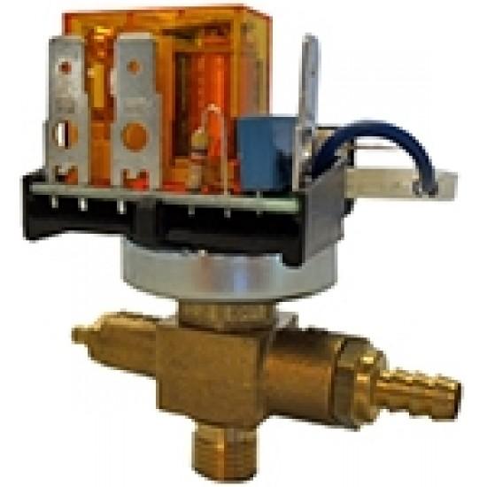PRESSURE SWITCH XP700+C110P 0,5-1,5 BAR G1/4 230VAC W/SAFETY VALVE 1,8 BAR