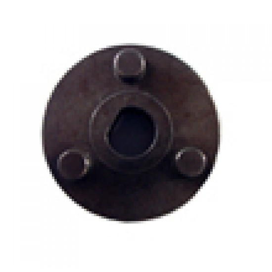conector - flansa cu 3 pini pentru motor - pompa diametru 40 mm