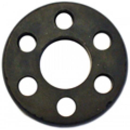 flansa - conector cu gauri , din cauciuc , pentru prindere motor -pompa diametru 40mm