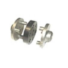 conector pentru pompa si motor , flansa 3 piese , diametru 40 mm ,