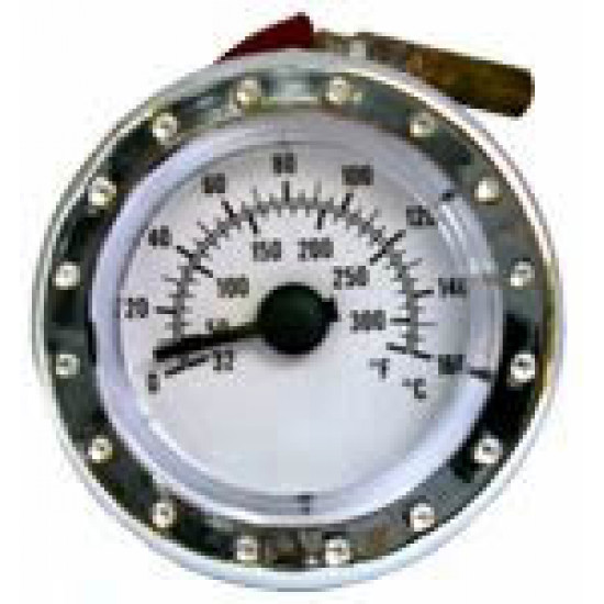 BOILER THERMOMETER D.40mm, 0-160C°, 32-300F°