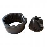 cutite conice pentru rasnita de cafea  SAECO , JURA IMPRESA , etc ,  dia 48/40 mm, int 10 mm