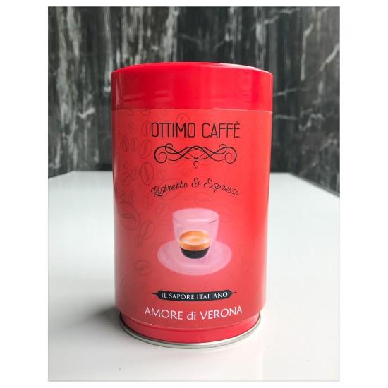 Cafea de specialitate proaspat prajita blend AMORE DI VERONA 250gr