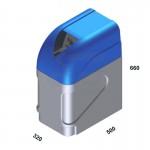 WATER SOFTENER AUTOMATIC MINI DVA LT.12 3/4'' WITH MIXER